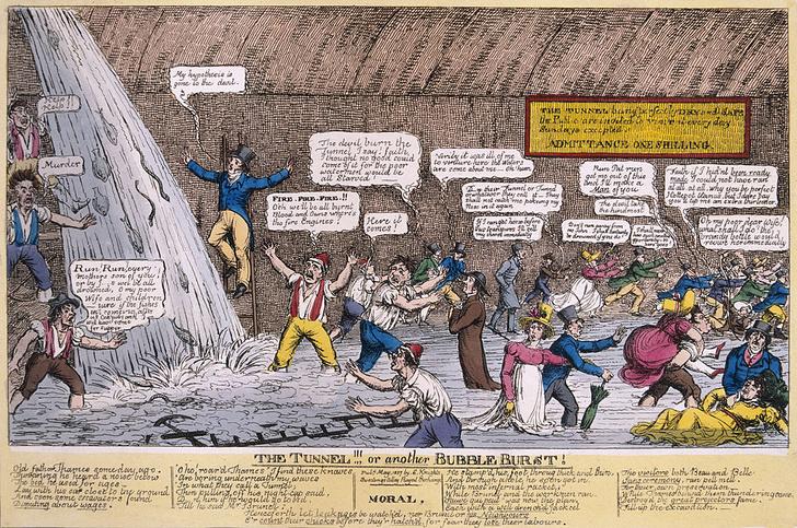 Фото №5 - Тоннель под Темзой: драматическая история строительства первого в мире тоннеля под рекой
