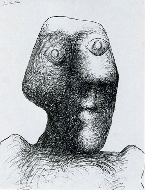 Фото №15 - 14 автопортретов Пабло Пикассо: от 15 до 90 лет