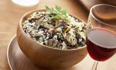 Как приготовить гохан из грибов мацутакэ
