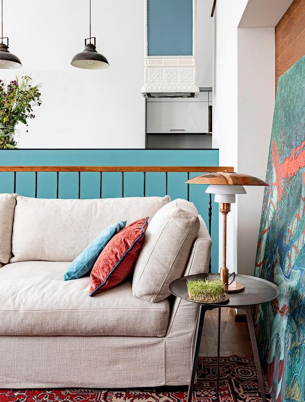 Фото №6 - Двухэтажный пентхаус в стиле бохо в Перми