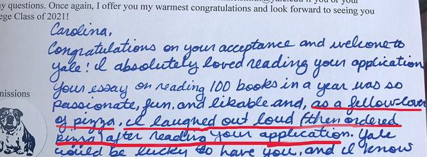 Фото №2 - Школьница поступила в колледж, написав эссе о…