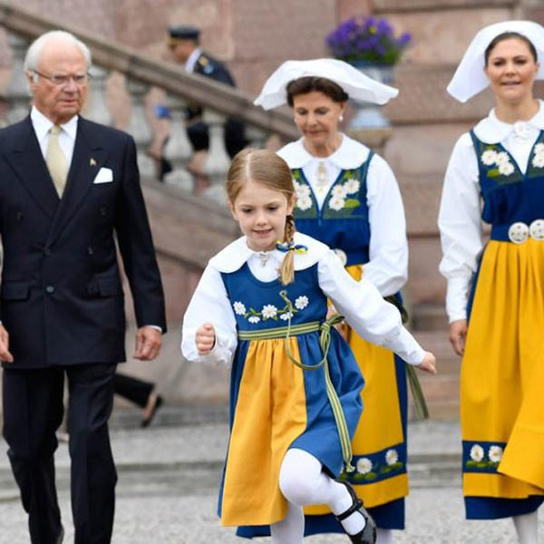 Фото №5 - Принцесса Эстель снова затмила шведского короля