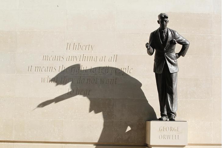 Фото №1 - Произведения Джорджа Оруэлла стали общественным достоянием