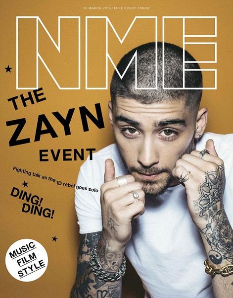 Зейн Малик для NME