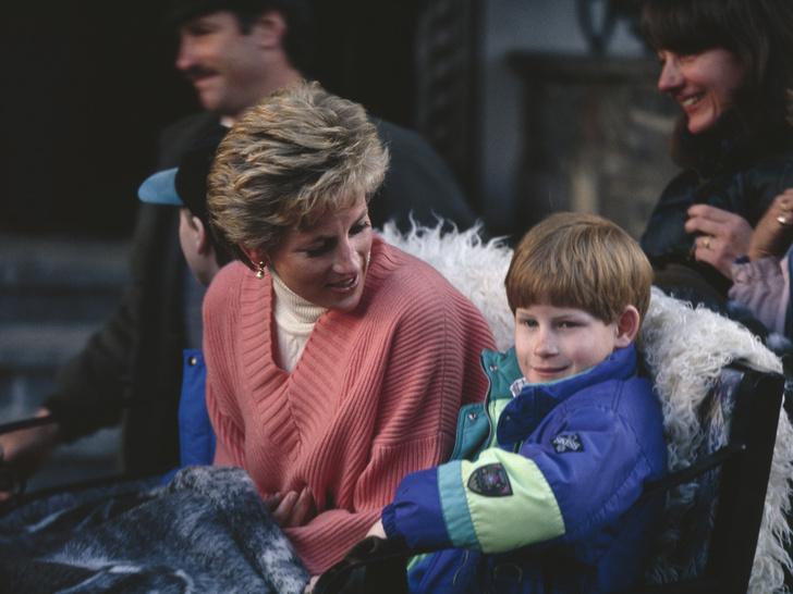 Фото №1 - Особый подарок, который Диана заранее подготовила на 25-летие Гарри (но он получил его намного позже