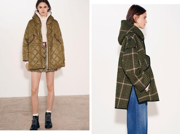 Фото №1 - Что купить вместо пальто: 10 модных вариантов от Maje