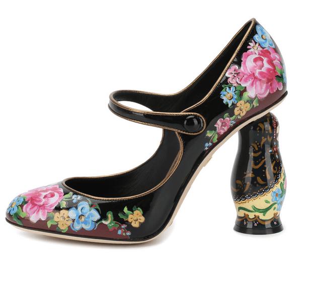 Фото №2 - Матрешки и Храм Василия Блаженного в новой коллекции Dolce & Gabbana