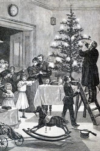 Фото №9 - Как отмечали Рождество в Русской императорской семье