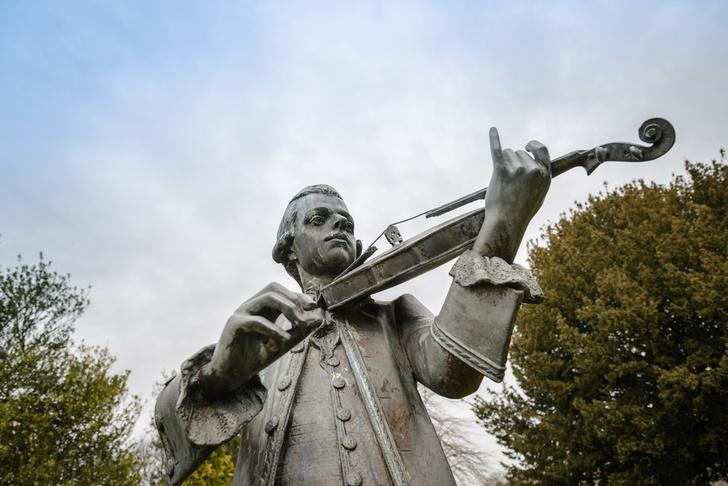 Фото №1 - Музыка Моцарта улучшает умственные способности