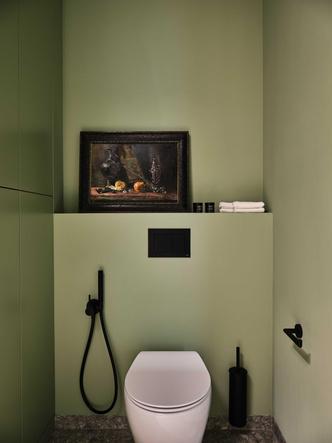 Фото №14 - «Манхэттенская» квартира с винтажной мебелью 136 м²