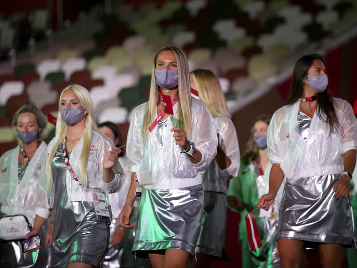Фото №17 - Как прошло открытие Олимпиады в Токио: самые яркие кадры