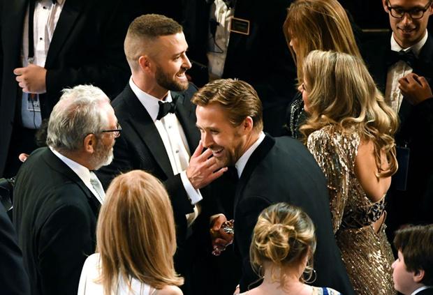 Сейчас Тимберлейк и Гослинг— важные гости на всех светских мероприятиях