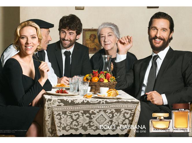 Фото №1 - The One: как снималась рекламная кампания с Мэтью МакКонахи и Скарлетт Йоханссон