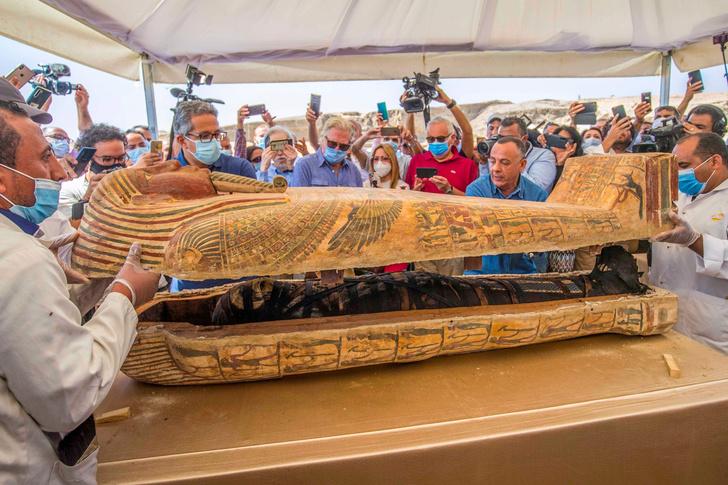 Фото №2 - «Тутанхамон влечет меня»: что может произойти после вскрытия гробниц фараонов в 2020 году