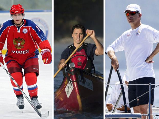 Фото №1 - Короли фитнеса: 15 самых спортивных глав государств нашего времени