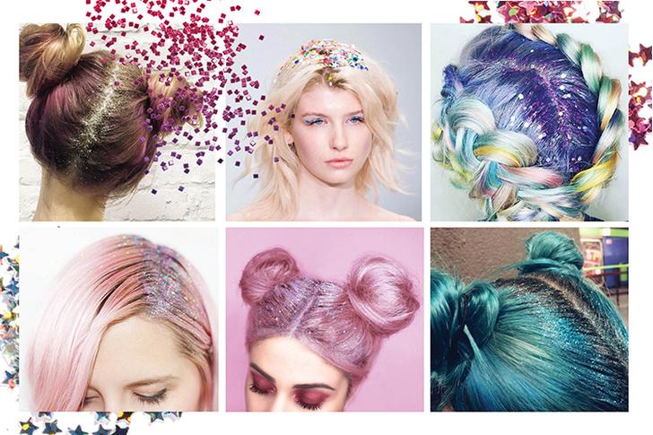Фото №3 - 6 способов использовать глиттер в новогоднем макияже