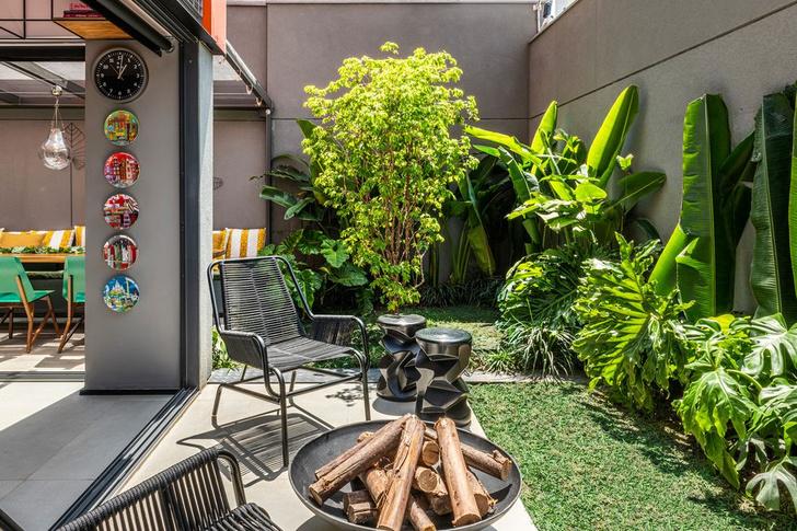 Фото №2 - Эклектичный дуплекс с садом в Сан-Паулу