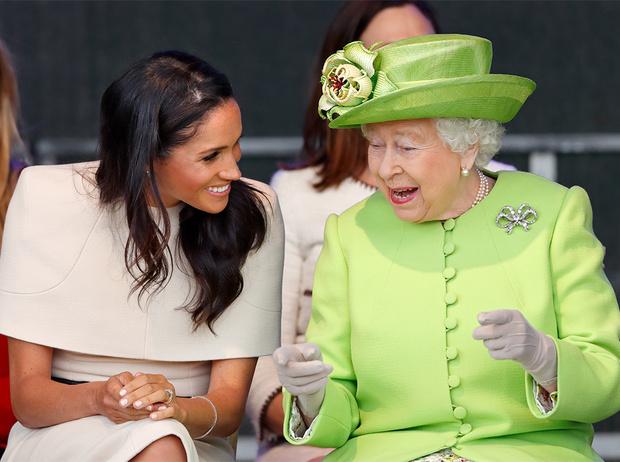 Фото №6 - Насколько герцогиня Меган уже сблизилась с королевской семьей