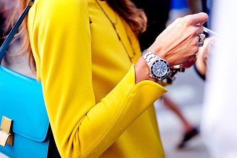 Фото №1 - Взять в руки: новые способы носить часы