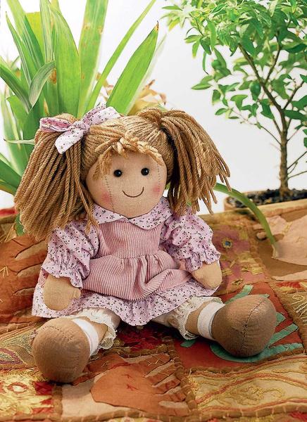 Фото №1 - Кукла для малыша: своими руками