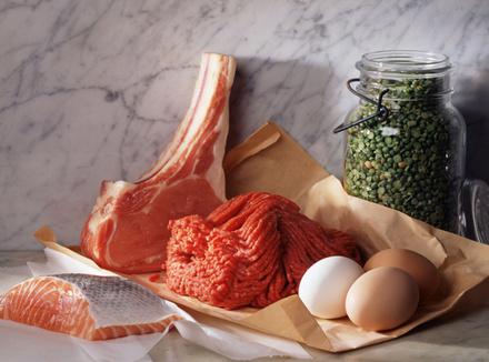 Мясо, рыба, яйца
