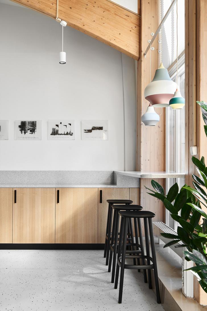 Фото №14 - Уютный офис в скандинавском стиле с верандой в Петербурге