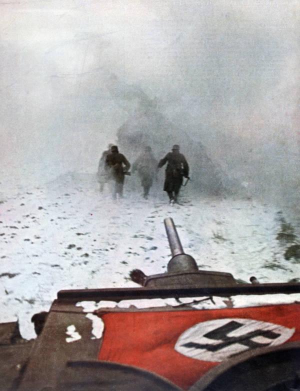 Фото №8 - 22 завораживающих цветных фото Второй мировой
