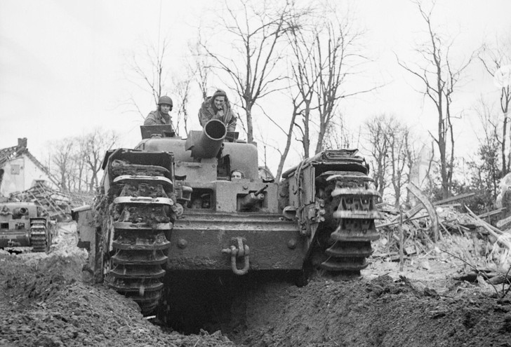 Фото №3 - «Они утонули…»: чудо-танки союзников для высадки в Нормандии