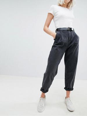 Фото №3 - Какие джинсы носить осенью 2020: 7 главных трендов