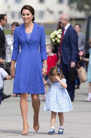 Фото №4 - Мама, ну идем же: принцессе Шарлотте не терпелось покинуть Польшу