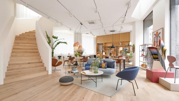 Фото №5 - Штаб-квартира Fritz Hansen в Токио по проекту Кенго Кумы