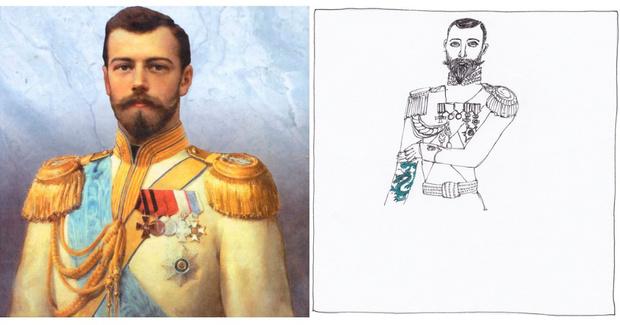 Фото №6 - Татуировки известных исторических личностей