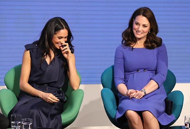 Фото №2 - Как Меган и Кейт относятся друг к другу: наблюдения экспертов по языку тела