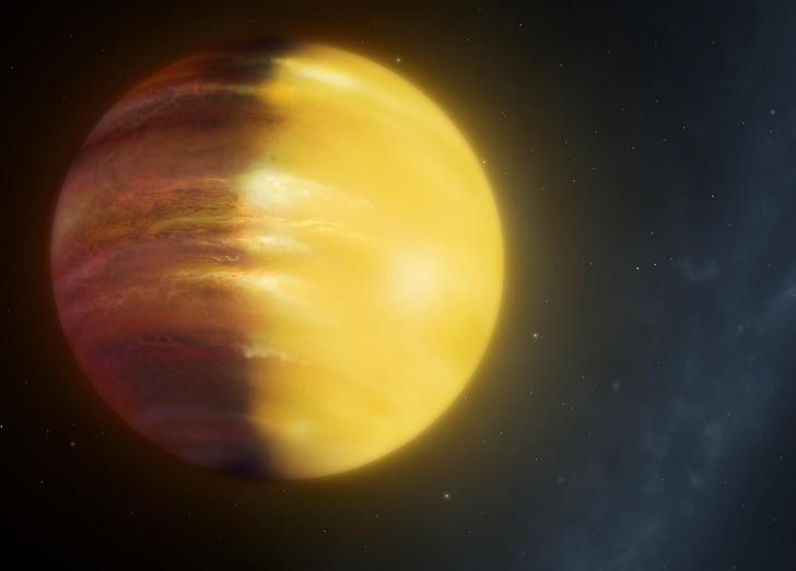 Фото №1 - Обнаружена планета с дождями из драгоценных камней