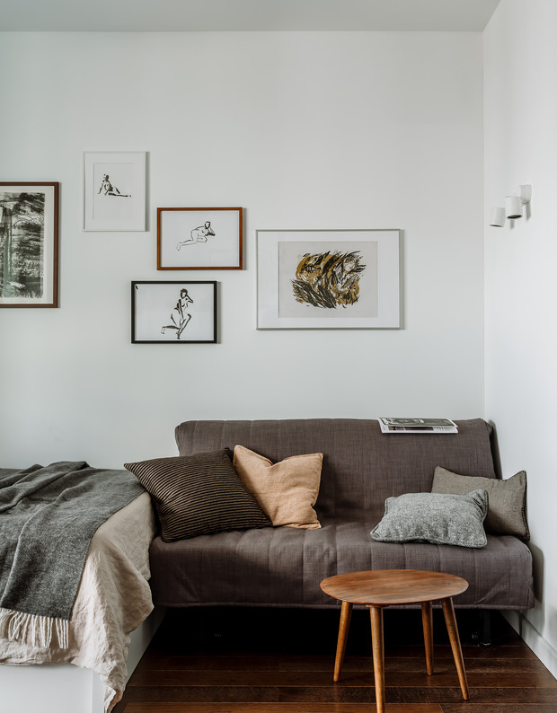 Фото №11 - Интерьер месяца: уютная квартира 35,7 м² в скандинавском стиле