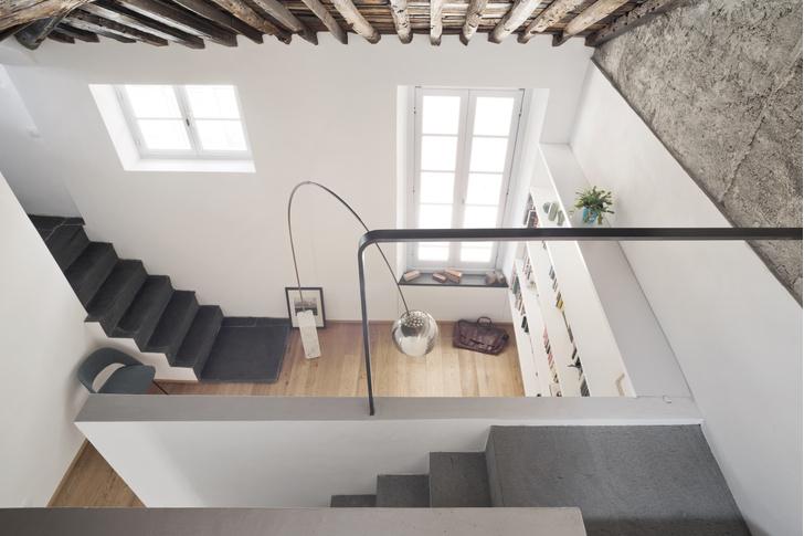 Фото №2 - Квартира с террасой в историческом центре Генуи