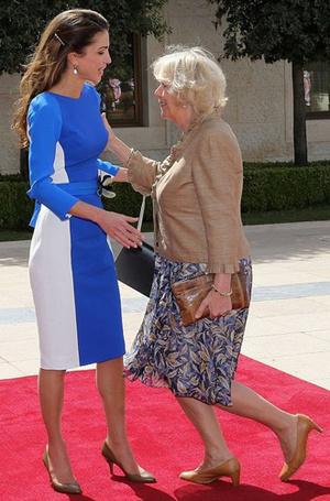 Фото №11 - Искусство реверанса: как современные принцессы и королевы приветствуют друг друга