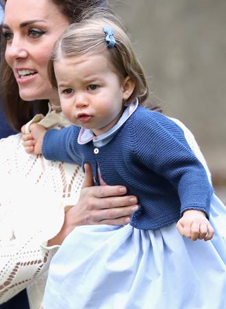Фото №6 - Ее мини-Величество: феноменальное сходство принцессы Шарлотты с Елизаветой II