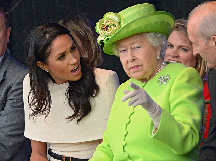 Фото №5 - Как герцогиня Меган разбудила «внутреннего ребенка» королевы