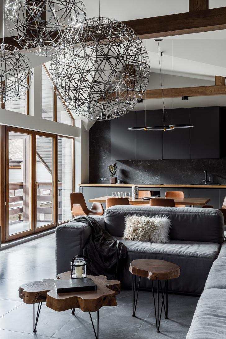 Фото №3 - Квартира 100 м² с видом на горы в Красной Поляне