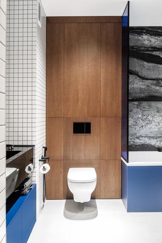 Фото №16 - Современная квартира в темных тонах 103 м²