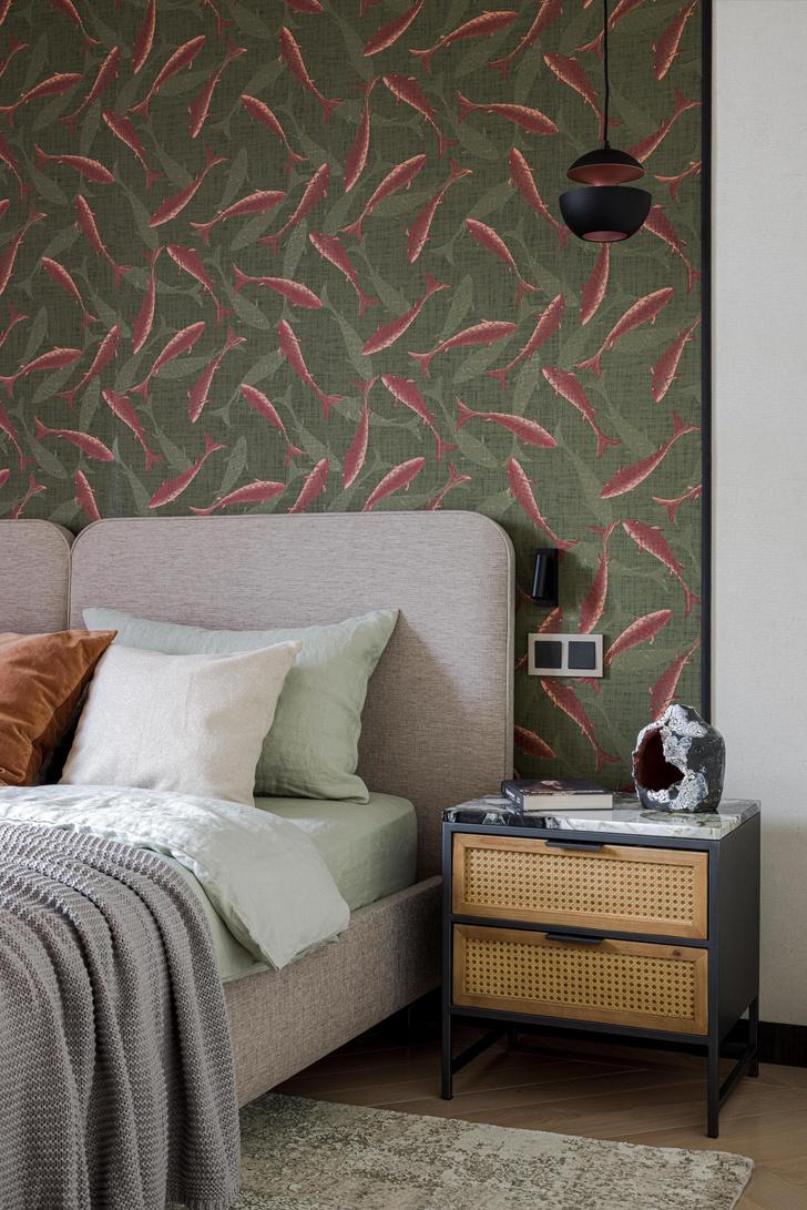 Фото №5 - Московская квартира 130 м² в оливково-кофейной цветовой гамме