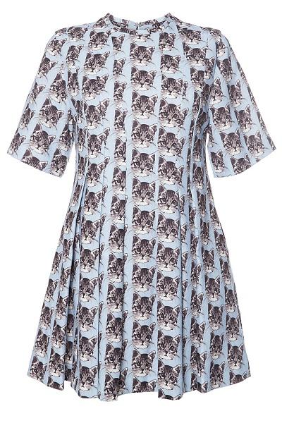 Фото №2 - Вещь дня: Платье с котиками Paul & Joe Sister