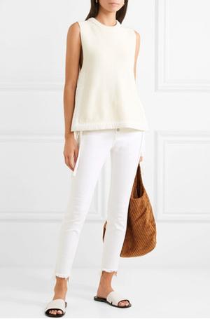 Фото №8 - 3 сочетания с белыми джинсами, которые облегчат сборы