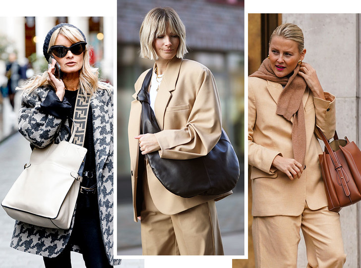 Фото №1 - Объем имеет значение: с чем носить оверсайз-сумки (и где искать самые модные)