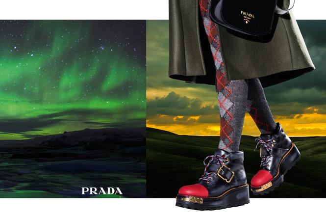 Фото №8 - 27 ярких моделей в осенней рекламной кампании Prada