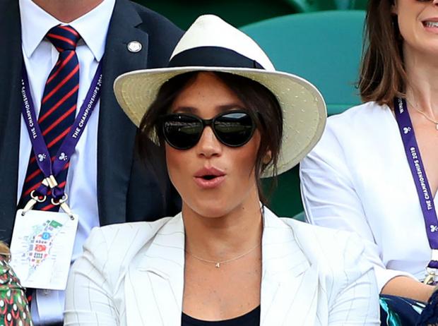 Фото №4 - Герцогиня Меган поддержала Серену Уильямс на Уимблдоне