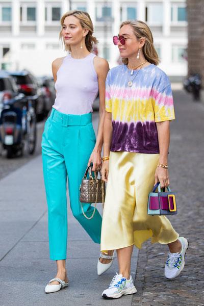 Street style на Неделе моды в Берлине, 1 июля 2019 год