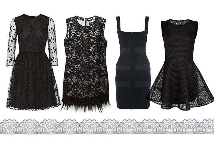 Платье, Carven; платье, DKNY; платье, French Connection; платье, Kira Plastinina