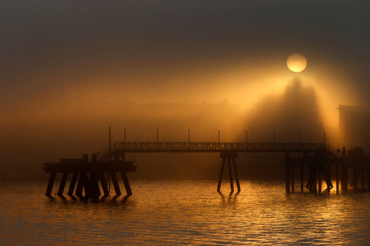 Фото №1 - Туман над гаванью